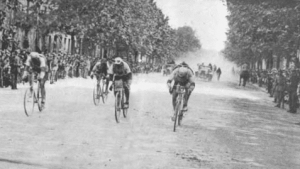 historia de la vuelta ciclista